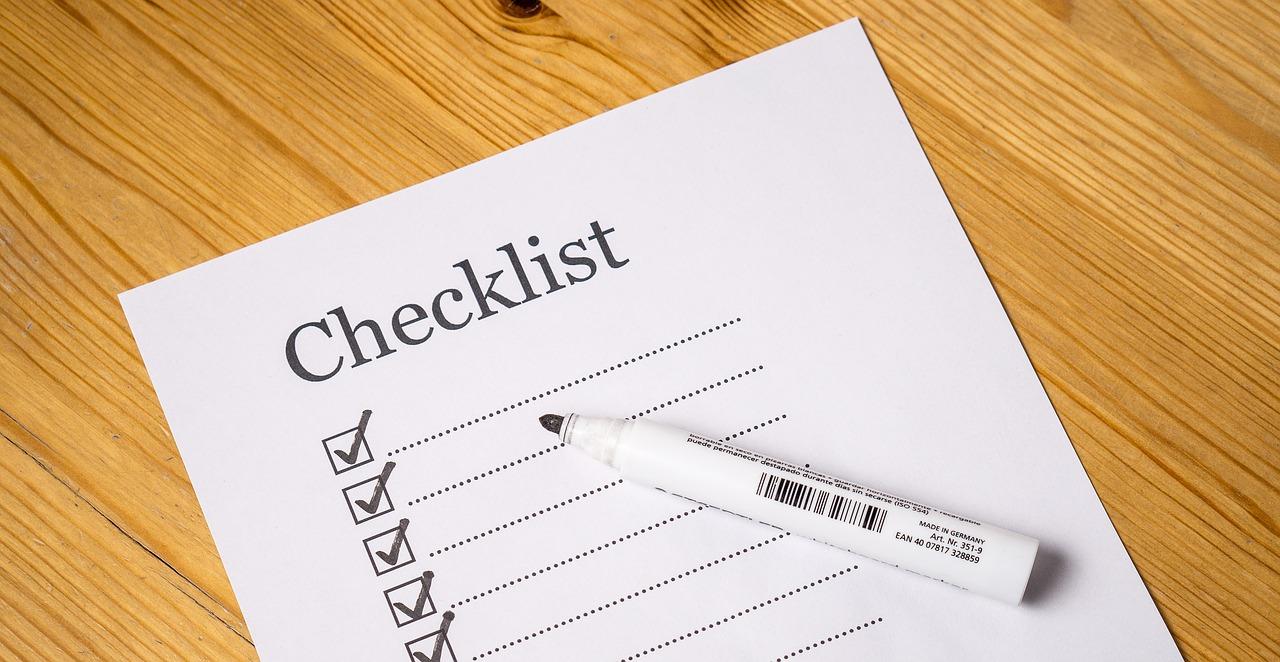 Checklist 08.16